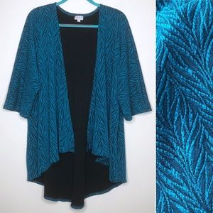 LuLaRoe Lindsay Open Front Cardigan Medium